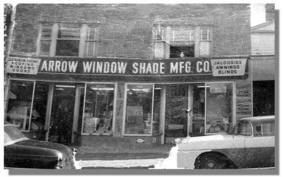 Arrow window store 1951