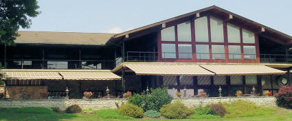 Country Club with Retractable Awnings