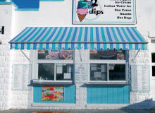 IceCream Stand with awning